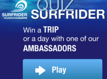 New Surfrider Foundation game